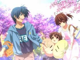 动漫clannad 清明樱花祭《樱花樱花想见你》口琴谱半音阶口琴